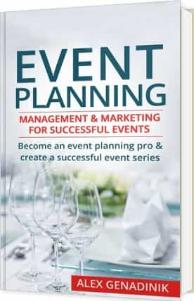 Event marketing and planning book