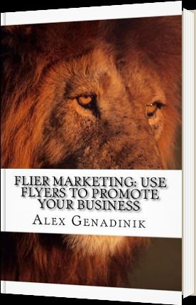 flier marketing book
