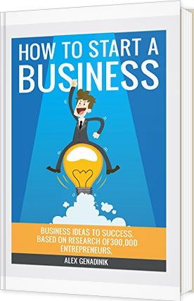 Book On Going From Business Ideas To Starting A Business