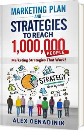 Marketing Plan And Strategy Book To Reach 1,000,000 People