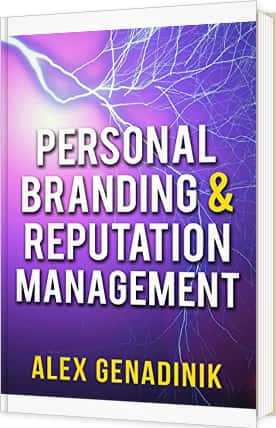 Personal branding and reputation management book
